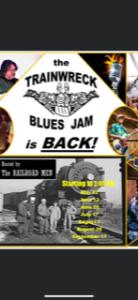 Trainwreck Blues Jam Hosted by The Railroad Men @ Railroad Pub
