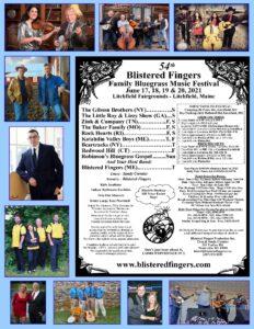 Blistered Fingers Band $10-90 @ Blistered Fingers Family Bluegrass Festival Litchfield Fairgrounds